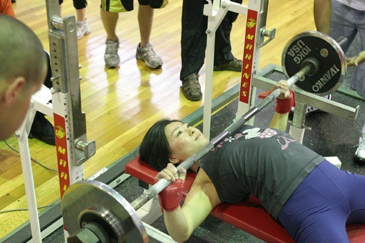 Compound movement, bench press
